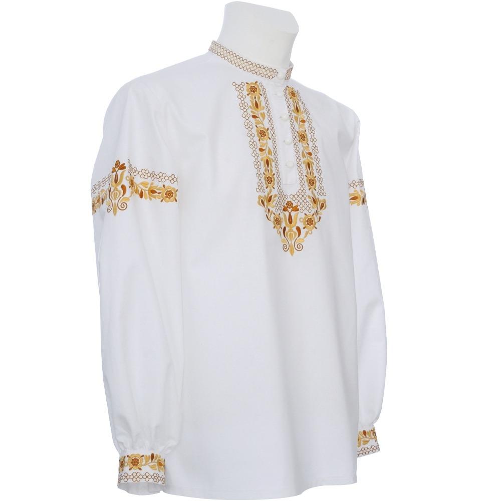 ca86313ae684 Vyšívaná košeľa DUŠAN s manžetamicena od 40 € Košeľa VLADIMÍR s manžetami